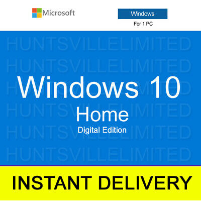 Windows 10 Home Key - Product key and download - INSTANT DELIVERY