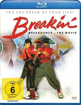 BREAKIN' BREAKDANCE-THE MOVIE  Lucinda Dickey, Adolfo Quinones  BLU-RAY NEW!