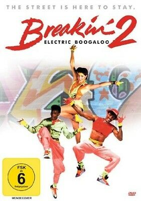 BREAKIN'2-ELECTRIC BOOGALOO  Lucinda Dickey, Adolfo Quinones DVD NEW!
