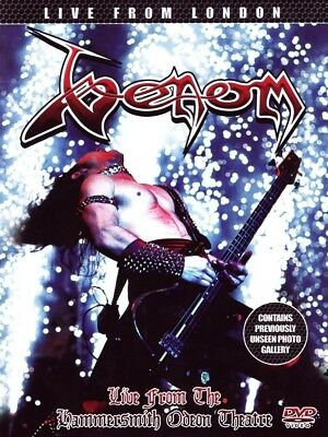 Venom - Live From London  Dvd New!
