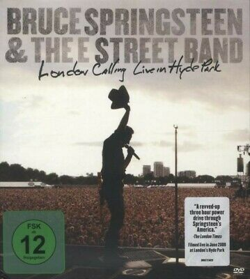 """Bruce Springsteen """"London Calling Live In..."""" 2 Dvd New!"""