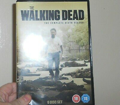 The Walking Dead Season 6 DVD watched once