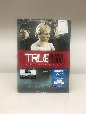 TRUE BLOOD THE COMPLETE SERIES New 33-Disc BLU-RAY + Digital HD Set HBO