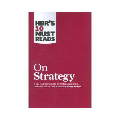 HBR's 10 Must Reads on Strategy (Including Featured Article  What is...