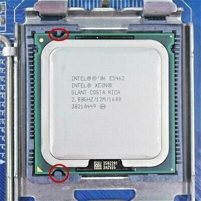 Intel Xeon E5462 LGA775 = (Core 2 Quad Q9650) more powerful (FSB 1600) Tdp80w