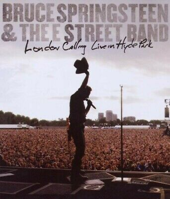 """BRUCE SPRINGSTEEN """"LONDON CALLING LIVE in the Hyde Park""""  BLU RAY NEW!"""