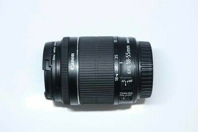 Canon EF-S 18-55mm F3.5-5.6 IS STM Digital Zoom Lens MINT with FREE lens hood!