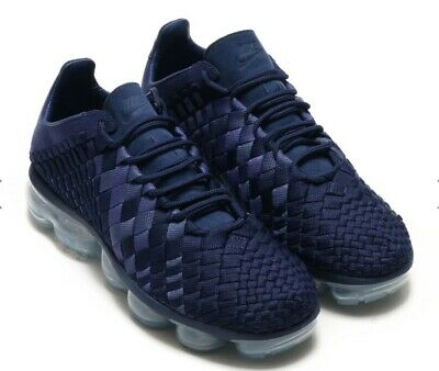 03a5d908692 NIKE AIR VAPORMAX Inneva Mens Size 10 10.5 Woven Midnight Navy Blue ...