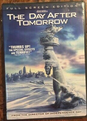 THE DAY AFTER TOMORROW PG-13 movie DVD FULL SCREEN Jake Gyllenhaal Dennis Quaid