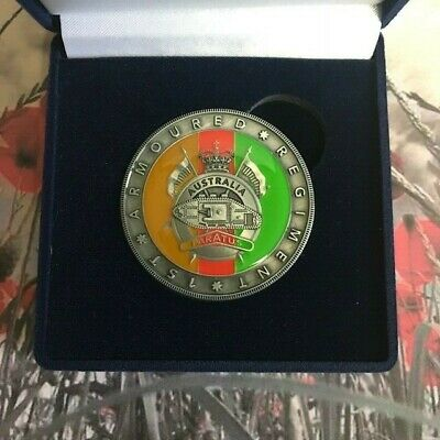 Challenge Coin - 1st Armoured Regiment - Australian Army