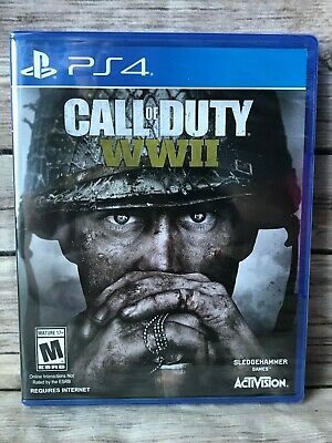 Call Of Duty: Wwii World War 2 Sony Playstation4 Ps4 Brand New Sealed