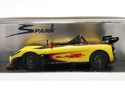 d084b438af91 WOW EXTREMELY RARE Lotus 2 Eleven 189HP 2009 Yellow Resin 1 43 Spark-Bizarre
