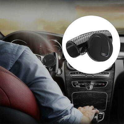 Car Steering Wheel Spinner Knob Auxiliary Booster Aid Control Handle Grip Black Atv,rv,boat & Other Vehicle