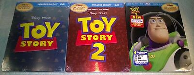 Disney's Toy Story 1 2 3 Trilogy (2010 Canada) Futureshop Exclusive Ironpack NEW