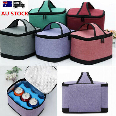 Large Thermal Cooler Waterproof Insulated Portable Tote Picnic Travel Lunch Bag