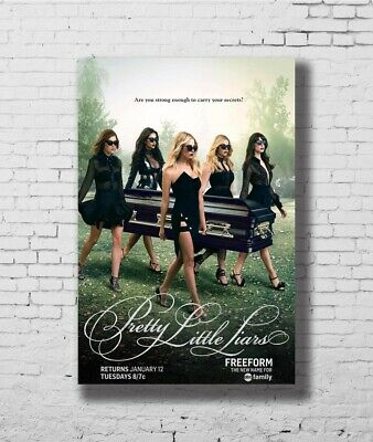 H482 24x36 14x21 Poster Pretty Little Liars TV Show Art Hot