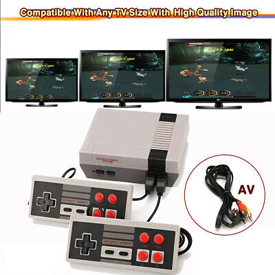 Mini Retro Family HD TV Game Console Classic 620 Games Built-in w/ 2 Controller