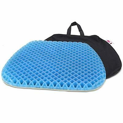Gel Orthopedic Seat Cushion Pad Car, Office Chair, Wheelchair, Back Pain Relief