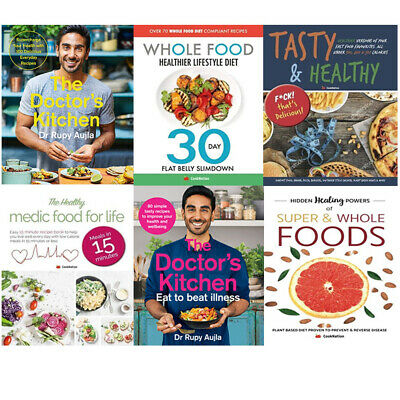 The Doctor's Kitchen, Whole Food, Tasty & Healthy 6 Books Collection Set NEW