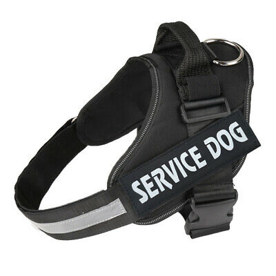 Service Dog Vest Harness - Military Grade Assistance Harness w/ Removable Tag
