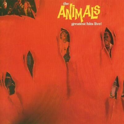 The Animals - Greatest Hits Live   Cd New!