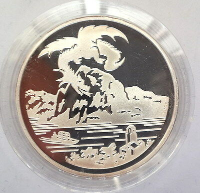Switzerland 1996 Mythological Dragon of Breno 20 Francs Silver Coin,Proof