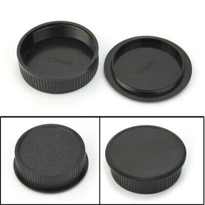 Plastic Front & Rear Cap Cover For M42 Digital Camera Body and Lens XZT