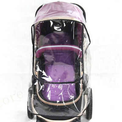 Universal Baby Stroller Waterproof Rain Cover Wind Dust Shield Carrier Raincover