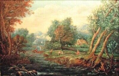 🔥c1760 Jean Baptiste Lallemand(1716-1803)Finely Painted French Gouache ⭐️⭐️⭐️⭐️