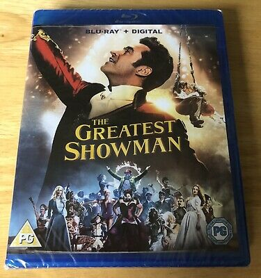 New - The Greatest Showman [Blu-ray + Download & Sing-along, 2017]