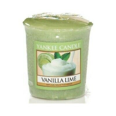 3 X Yankee Candle Vanilla Lime Votives