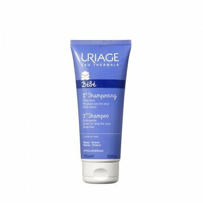 Uriage 1st Extra-Gentle Hair Shampoo W/ Soap-Free For Babies And Children 200 ml