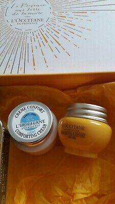 L'Occitane 4 items including divine creme