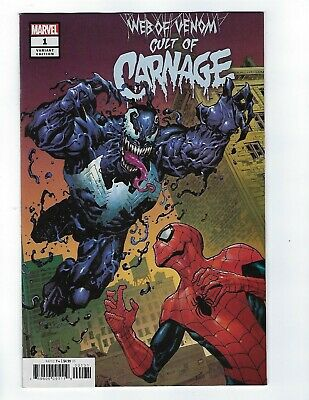 Web Of Venom Cult Of Carnage # 1 Cassara Variant NM Marvel Pre Sale Apr 10th