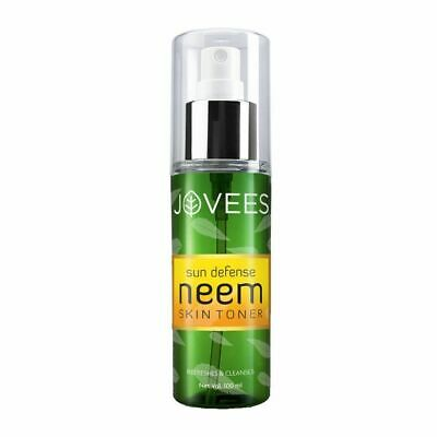 Jovees Sun Defence Neem Skin Toner, Effectively cleanses pores   100ml