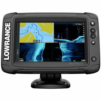Lowrance Elite-7 Ti2  Combo w/Active Imaging 3-in-1 Transducer 000-14638-001