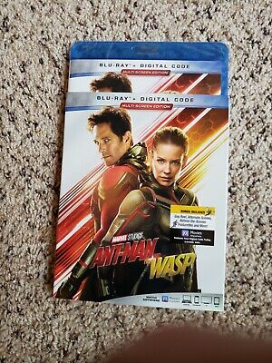 Ant-Man and the Wasp (Blu-ray, Digital, 2018) NEW