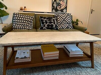 West Elm Mid Century Pop Up Storage Coffee Table 399 00