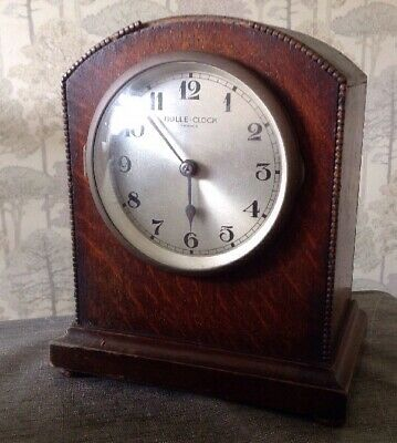 Antique Bulle Clock Original Condition To Restore 23x20x12cm Overall. Untested.