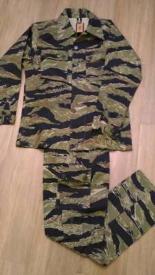 REPLICA VIETNAM WAR Tiger Stripe Camouflage Combat Uniforms JWD type US-S  to XL