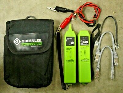 Greenlee 1573 Tone & Probe Plus Cable-Check UTP/STP Cable Tester w/ pouch