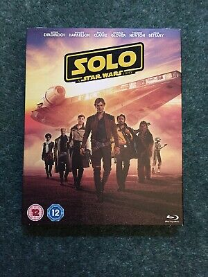 Solo: A Star Wars Story [Blu-ray, 2018] - NEW + SLEEVE! SEALED!
