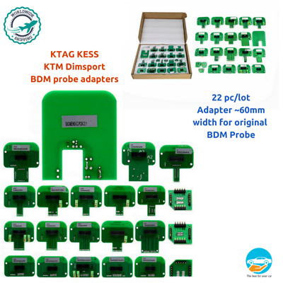 LED BDM Frame ECU RAMP Adapters KTM BDM Probe Adapters Full Set Ktag Kess tool