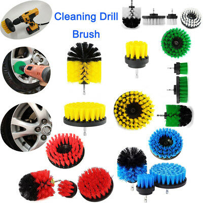 6Pcs Tile Grout Power Scrubber Cleaning Drill Brush Tub Cleaner Combo Kits Lot Z