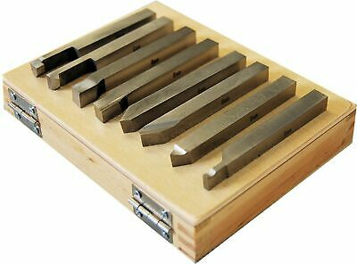 Set of 8 SCT Solid HSS Lathe Turning Tools 8 mm Square From Chronos