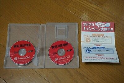 Metal Gear Solid The Twin Snakes Nintendo Gamecube Japan! Rare! Tested!