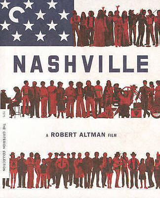 Nashville (Blu-ray/DVD, 2013, Criterion Collection) OOP Dual Format Edition