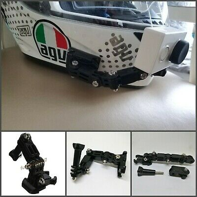 Motorcycle Helmet Curved Adhesive Arm Set Action Camera High Quality Accessories