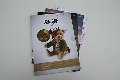 Steiff Club Magazine 2014  - Februar, Mai, August und November 2014