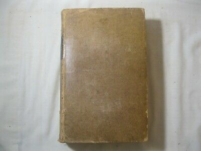 Leather Book The Life Of William Penn 1852 By Samuel M. Janney 1St Pennsylvania